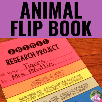 Animal Flip Book Research Project