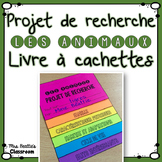 Animal Flip Book Research Project - FRENCH Version