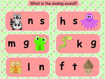 Animal Friends Alphabet for ActiveBoard