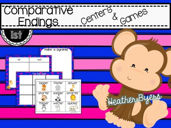 Comparative Endings Centers and Games