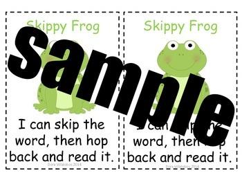 Animal Friends Reading Strategies