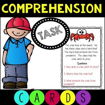 Comprehension Task Cards