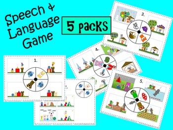 """Speech Work """"Animal Fun"""" Language Expander"""