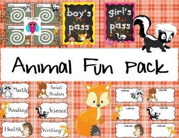 Animal Fun Pack