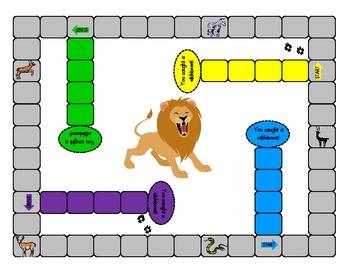 Animal Game Board