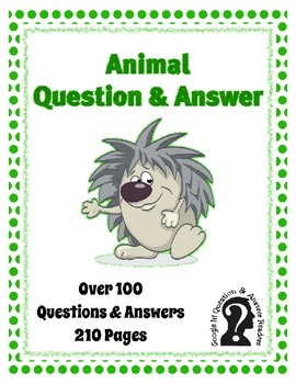 Animal Google It! Reader ~ Over 100 Questions and Answers ~