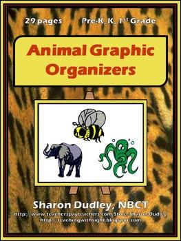 Animal Graphic Organizers