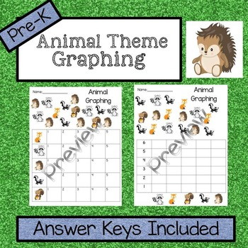 Animal Graphing Activity