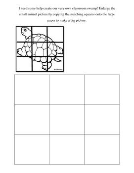 Animal Grid art/ math