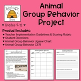 Animal Group Behavior Project: HS-LS2-8