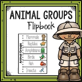 Animal Group Flipbook