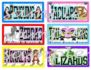 Animal Group Labels