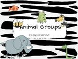 Animal Group Printables