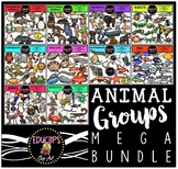 Animal Groups Clip Art Mega Bundle {Educlips Clipart}