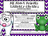 Animal Groups Common Core Literacy Centers- 1st Grade Jour