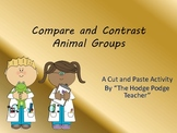 Animal Groups Compare and Contrast