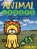 Animal Groups: First Grade - Supplemental Resources #15