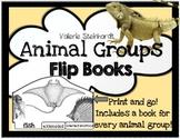 Animal Groups Flip Books