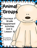 Animal Groups Journeys 1st Grade Supplement Activities Lesson 15