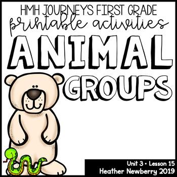 Animal Groups: Journeys 1st Grade (Unit 3, Lesson 15)