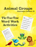 Animal Groups Journeys Lesson 15