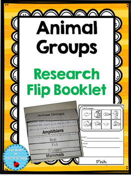 Animal Groups Research Booklet