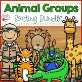 Animal Groups Sorting Bundle
