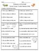 Animal Groups - Vocabulary & Comprehension Test/Quiz (Journeys)