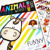 Animal Guess Who? Game