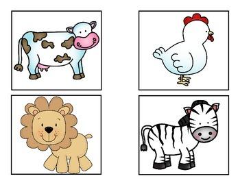 "Animal Guessing Game - Houghton Mifflin Preschool ""Animals All Around"""