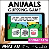 Animal BOOM CARDS™ – Digital Task Card Guessing Game