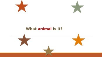 Animal Guessing Game for ESL