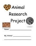 Animal Guided Research Packet/Outline