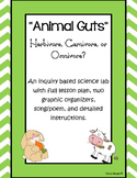 Animal Guts: Inquiry Based Herbivore, Carnivore, Omnivore Lesson!