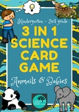 Animals & Babies 3-in-1 Science Game