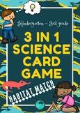 Animal Habitat 3-in-1 Science Game