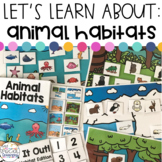 #warmupwithsped3 Animal Habitat Activities for Special Education