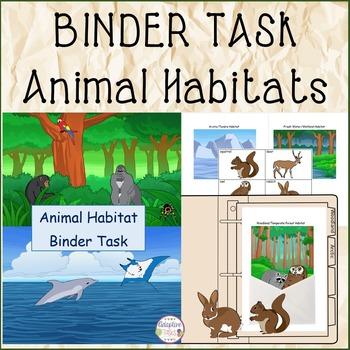 BINDER TASK Animal Habitat