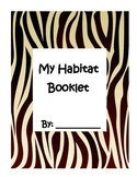 Animal Habitat Booklet