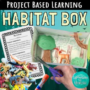 Animal Habitat Box - Science Project Based Learning