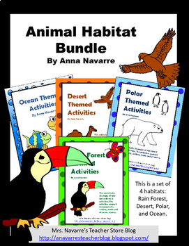 Animal Habitat Resource Bundle