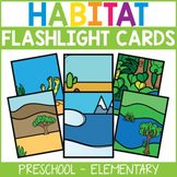 Animal Habitat Flashlight Card Bundle