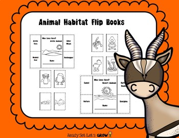 Animal Habitat Flip Books