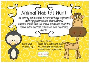 Animal Habitat Hunt