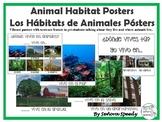 Animal Habitat Posters/Los Hábitats de Animales Pósters