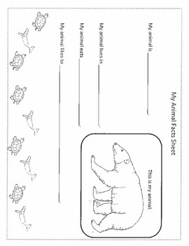 Animal Habitat Printables