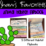 Animal Habitat Research Flipbooks {5 Different Flipbooks}