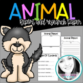 Animal & Habitat Research Paper & Project