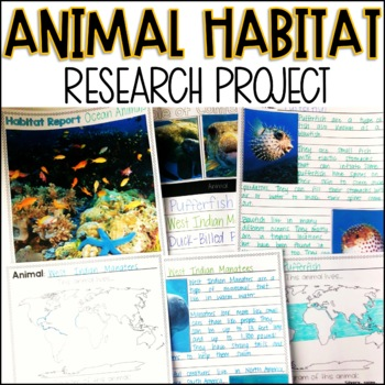 Animal Habitat Research Report Distance Learning