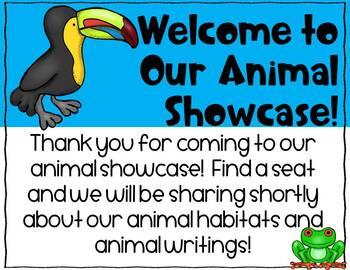 Animal Habitat Shoebox Activity Resources